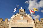 Israel, Lower Galilee, the Greek Orthodox St. George Church in Kafr Cana built in 1886