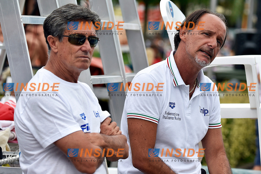 Giorgio CAGNOTTO, Oscar BERTONE <br /> Bolzano 03-08-2014 <br /> 20 Fina Diving Grand Prix <br /> Photo Andrea Staccioli/Insidefoto