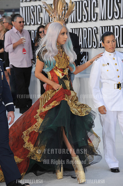 Lady GaGa at the 2010 MTV Video Music Awards at the Nokia Theatre L.A. Live in downtown Los Angeles..September 12, 2010  Los Angeles, CA.Picture: Paul Smith / Featureflash