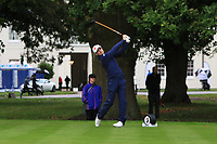 Joel Girrbach (SUI) on the 10th tee during Round 2 of the Bridgestone Challenge 2017 at the Luton Hoo Hotel Golf &amp; Spa, Luton, Bedfordshire, England. 08/09/2017<br /> Picture: Golffile | Thos Caffrey<br /> <br /> <br /> All photo usage must carry mandatory copyright credit     (&copy; Golffile | Thos Caffrey)