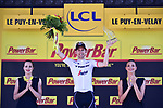 Bauke Mollema (NED) Trek-Segafredo wins Stage 15 of the 104th edition of the Tour de France 2017, running 189.5km from Laissac-Severac l'Eglise to Le Puy-en-Velay, France. 16th July 2017.<br /> Picture: ASO/Pauline Ballet | Cyclefile<br /> <br /> <br /> All photos usage must carry mandatory copyright credit (&copy; Cyclefile | ASO/Pauline Ballet)