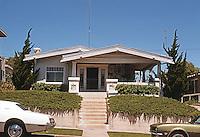 San Diego: California bungalow style house, circa 1915-20.  Photo '78.