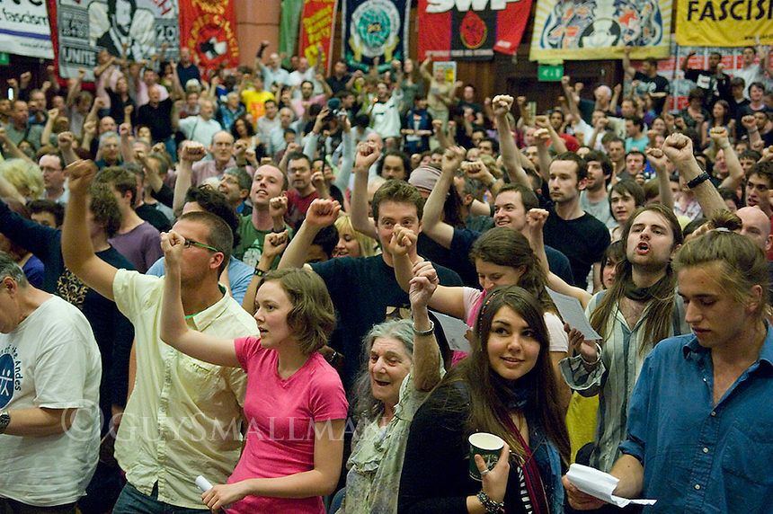 The annual Marxism festival held in central London and organised by the Socialist Workers Party. The event with around 100 meetings was held over a five day period in July.