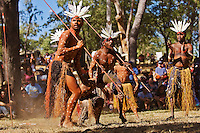 Aurukun Dancers 2,  Laura Aboriginal Dance Festival, Laura, Cape York Peninsula, Queensland, Australia.