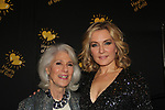 Jamie deRoy & Amy Carlson - Hearts of Gold annual All That Glitters Gala - 24 years of support to New York City's homeless mothers and their cildren - (VIP Reception - Silent Auction) was held on November 7, 2018 at Noir et Blanc and the 40/40 Club in New York City, New York.  (Photo by Sue Coflin/Max Photo)
