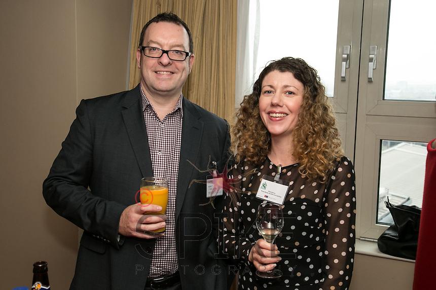 Nick Gregory of CPMG and Finola Brady, Architect