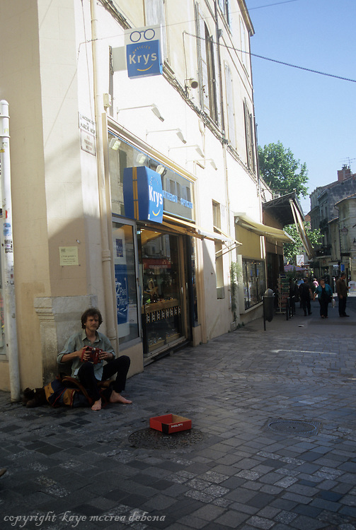 French street scenes of southern France