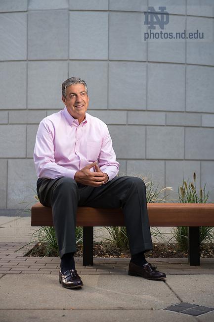 Aug. 14, 2014; Chris Stevens, Mendoza College of Business<br /> <br /> Photo by Matt Cashore/University of Notre Dame