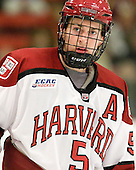 Dan Ford (Harvard - 5) - The Yale University Bulldogs defeated the Harvard University Crimson 5-1 on Saturday, November 3, 2012, at Bright Hockey Center in Boston, Massachusetts.
