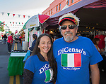 Joanne & Richard Caginia from San Jose, Ca attend the 35th Annual Eldorado Great Italian Festival held in downtown Reno on Saturday, October 8, 2016.