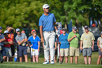 Shubhankar Sharma (IND) watches his tee shot on 12 during 1st round of the 100th PGA Championship at Bellerive Country Cllub, St. Louis, Missouri. 8/9/2018.<br /> Picture: Golffile | Ken Murray<br /> <br /> All photo usage must carry mandatory copyright credit (© Golffile | Ken Murray)