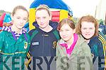 Enjoying the fun at the football blitz in knocknagoshel on Sunday were Leanne Mangan, Knocknagoshel, Sine?ad Guiney, Brosna,  Claire and Ellen White Knocknagoshel..   Copyright Kerry's Eye 2008