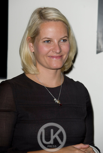 Crown Princess Mette Marit of Norway on a three day visit to the county of Telemark in Norway, visiting the town of Kragero and attending dinner at The Hotel Quality Spa Resort, Kragero.