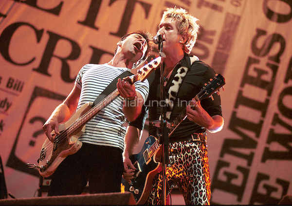 The Sex Pistols Finsbury Park, London 23 June 1996. The original line-up reformed for 1996 tour.. Credit: Ian Dickson/MediaPunch