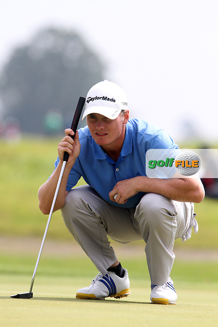 Pontus Widegren (Sweden) on the Final Day of the International European Amateur Championship 2012 at Carton House, 11/8/12...(Photo credit should read Jenny Matthews/Golffile)...