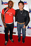 "JIMMY JEAN-LOUIS, JAMES KYSON-LEE. Celebrities participate in ""Ride 4 Haiti: Los Angeles,"" a motorcycle ride to benefit Hollywood Unites for Haiti, founded by Haitian-born actor, Jimmy Jean-Louis. Los Angeles, CA, USA.  February 27, 2010."