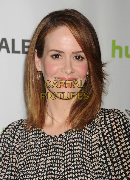 Sarah Paulson.30th Annual Paley Fest, 'American Horror Story: Asylum' held at the Saban Theatre, Beverly Hills, California, USA, 15th March 2013..headshot portrait black white print .CAP/ROT/TM.©Tony Michaels/Roth Stock/Capital Pictures