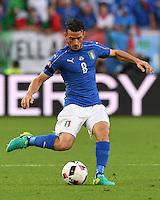 FUSSBALL EURO 2016 VIERTELFINALE IN BORDEAUX Deutschland - Italien      02.07.2016 Alessandro Florenzi (Italien)