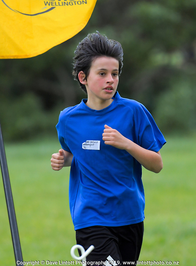 Wellington Primary Schools Southern Zone cross country race at Houghton Bay School in Wellington, New Zealand on Tuesday, 11 June 2019. Photo: Dave Lintott / lintottphoto.co.nz