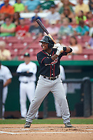 Great Lakes Loons designated hitter Willie Calhoun (3) at bat during a game against the Kane County Cougars on August 13, 2015 at Fifth Third Bank Ballpark in Geneva, Illinois.  Great Lakes defeated Kane County 7-3.  (Mike Janes/Four Seam Images)