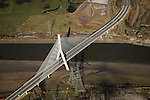 Flintshire Bridge from the Air