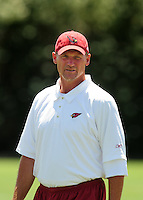 Jun 9, 2008; Tempe, AZ, USA; Arizona Cardinals head coach Ken Whisenhunt during mini camp at the Cardinals practice facility. Mandatory Credit: Mark J. Rebilas-