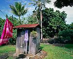 Outhouse on the Big Island, Hawaii