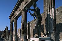 Italy,Campania,Pompei,Apollo Temple