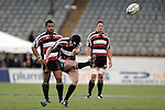 Blair Feeney kicks a penalty during the Air NZ Cup rugby game between Bay of Plenty & Counties Manukau played at Blue Chip Stadium, Mt Maunganui on 16th of September, 2006. Bay of Plenty won 38 - 11.