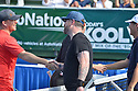 DELRAY BEACH, FL - NOVEMBER 24: Kevin McKidd, David Cook and Vince Spadea attend the 30TH Annual Chris Evert Pro-Celebrity Tennis Classic Day3 at the Delray Beach Tennis Center on November 24, 2019 in Delray Beach, Florida.  ( Photo by Johnny Louis / jlnphotography.com )