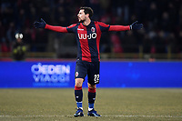 Mattia Destro of Bologna reacts during the Italy Cup 2018/2019 football match between Bologna and Juventus at stadio Renato Dall'Ara, Bologna, January 12, 2019 <br />  Foto Andrea Staccioli / Insidefoto