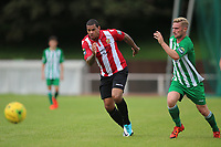 Leon McKenzie of Hornchurch during AFC Hornchurch vs Soham Town Rangers, Bostik League Division 1 North Football at Hornchurch Stadium on 12th August 2017