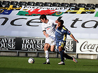 Pictured: Owain Tudur Jones of Swansea City in action<br /> Re: Coca Cola Championship, Swansea City FC v Cardiff City at the Liberty Stadium. Swansea, south Wales, Sunday 30 November 2008.<br /> Picture by D Legakis Photography / Athena Picture Agency, Swansea 07815441513