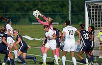 Kansas City, MO - Sunday September 04, 2016: Caroline Stanley during a regular season National Women's Soccer League (NWSL) match between FC Kansas City and the Sky Blue FC at Swope Soccer Village.