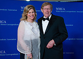 Lady Booth and Theodore Olson arrive for the 2018 White House Correspondents Association Annual Dinner at the Washington Hilton Hotel on Saturday, April 28, 2018.<br /> Credit: Ron Sachs / CNP<br /> <br /> (RESTRICTION: NO New York or New Jersey Newspapers or newspapers within a 75 mile radius of New York City)