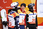 Gurimu Narita (JPN), <br /> MARCH 16, 2018 - Snowboarding : <br /> Men's Banked Slalom Standing <br /> at Jeongseon Alpine Centre <br /> during the PyeongChang 2018 Paralympics Winter Games in Pyeongchang, South Korea. <br /> (Photo by Sho Tamura/AFLO SPORT)