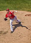 27 April 2014: Washington Nationals pitcher Ross Detwiler on the mound against the San Diego Padres at Nationals Park in Washington, DC. The Padres defeated the Nationals 4-2 to to split their 4-game series. Mandatory Credit: Ed Wolfstein Photo *** RAW (NEF) Image File Available ***
