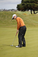 James Yeomans (ENG) on the 13th during Round 3 of The Irish Amateur Open Championship in The Royal Dublin Golf Club on Saturday 10th May 2014.<br /> Picture:  Thos Caffrey / www.golffile.ie
