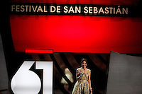 Michelle Yeoh  during the 61st San Sebastian International Film Festival's opening ceremony, in San Sebastian, Spain. September 20, 2013. (ALTERPHOTOS/Victor Blanco) /NortePhoto