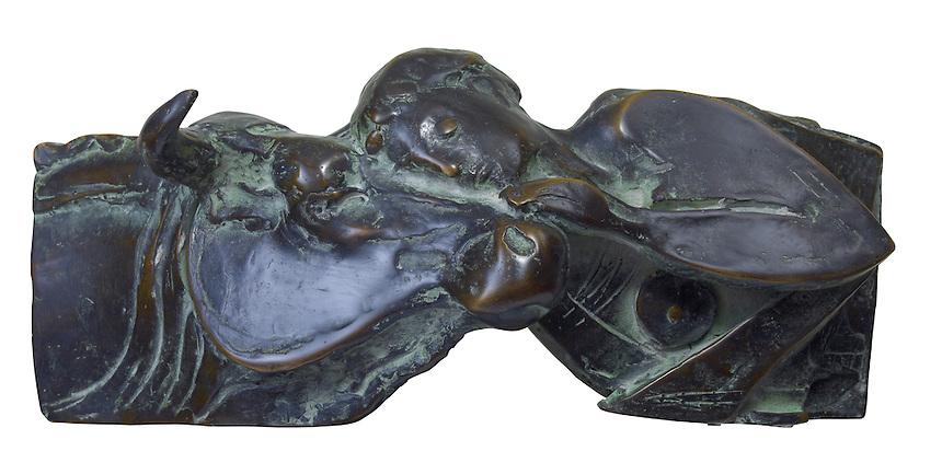Bronsgieterij Hans Steylaert in Waardenburg.