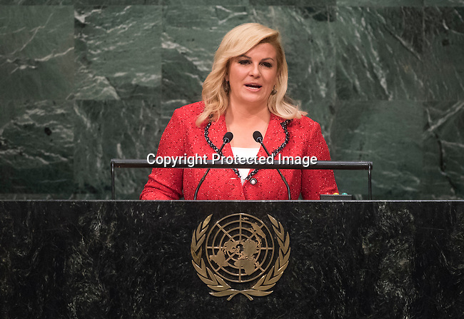 . Address by Her Excellency Kolinda GrabarKitarović, President of the Republic of Croatia
