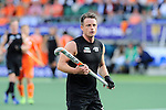 The Hague, Netherlands, June 10: Shea McAleese #25 of New Zealand looks on during the field hockey group match (Men - Group B) between New Zealand and The Netherlands on June 10, 2014 during the World Cup 2014 at Kyocera Stadium in The Hague, Netherlands. Final score 1-1 (0-1) (Photo by Dirk Markgraf / www.265-images.com) *** Local caption ***