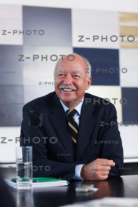Interview und Portrait von Michael Hilti, Praesident des Verwaltungsrates der Hilti AG im Hauptsitz an der Feldkircherstrasse 100 in Schaan FL am 18. April 2011..Copyright © Zvonimir Pisonic