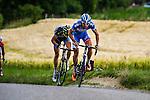 The break on the Gulperberg Marco MINNAARD (BEL, WGG) Stage 3 Buchten - Buchten, Ster ZLM Toer, Buchten, The Netherlands, 20th June 2014, Photo by Thomas van Bracht / Peloton Photos