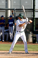 Stephen Parker - Oakland Athletics 2009 Instructional League. .Photo by:  Bill Mitchell/Four Seam Images..