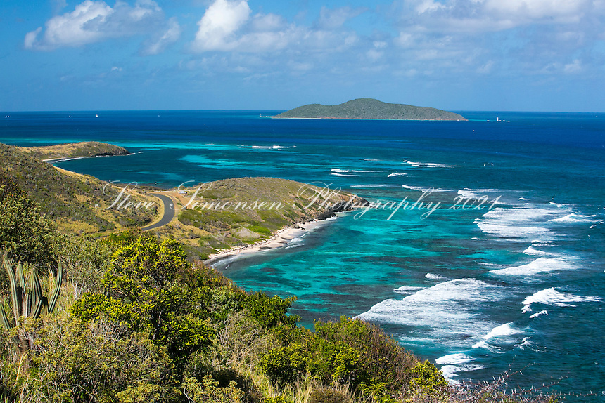 View towards Buck Island from Pt Udal<br /> St. Croix<br /> Virgin Islands