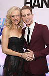 Rachel Bay Jones and Ben Platt attends the Broadway Opening Night After Party for 'Dear Evan Hansen'  at The Pierre Hotel on December 3, 2016 in New York City.