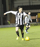 Alan Gow in the St Mirren v Falkirk Scottish Professional Football League Ladbrokes Championship match played at the Paisley 2021 Stadium, Paisley on 1.3.16.