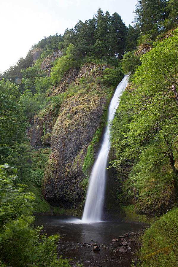 Horsetail Falls, Columbia River Gorge, Oregon, OR, USA
