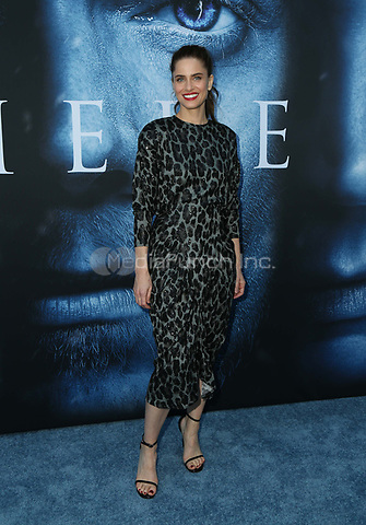 "LOS ANGELES, CA July 12- Amanda Peet,  At Premiere Of HBO's ""Game Of Thrones"" Season 7 at The Walt Disney Concert Hall, California on July 12, 2017. Credit: Faye Sadou/MediaPunch"